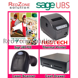 Sage UBS Point of Sales Software Package with Hardware